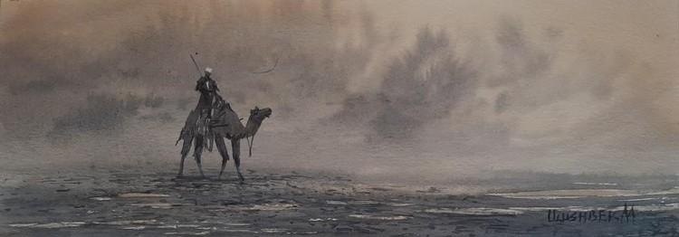 Shtorm in desert