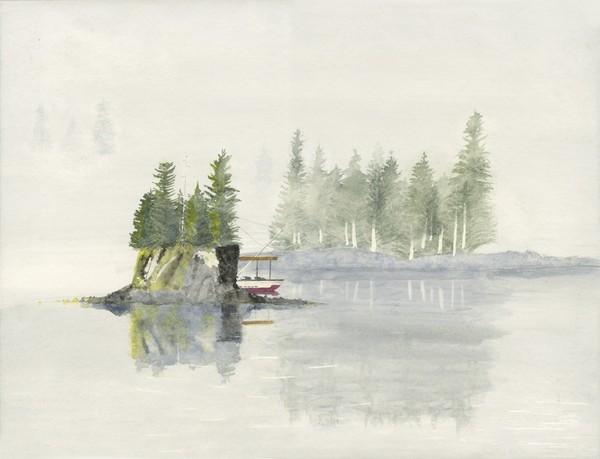 Isle in Fog