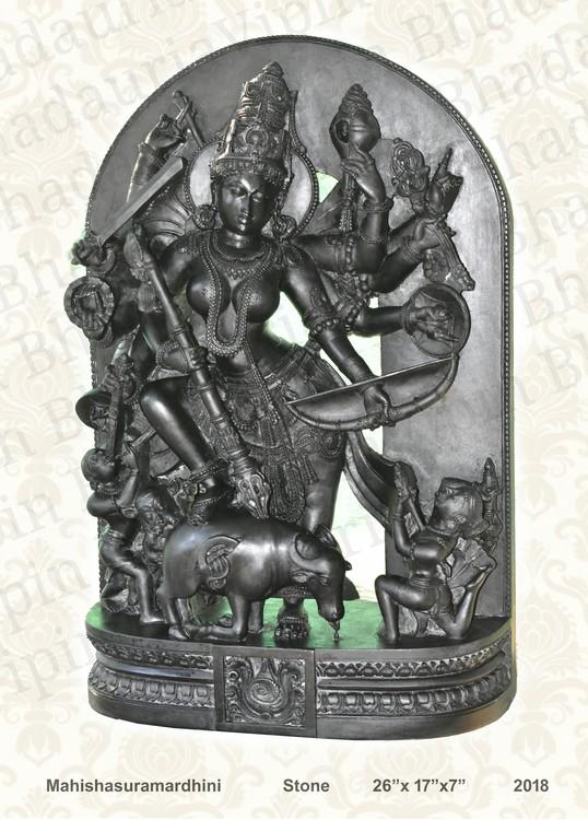 Goddess Durga as Mahisha sura mardhini