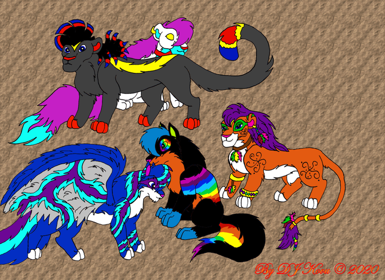 My furrys from the past