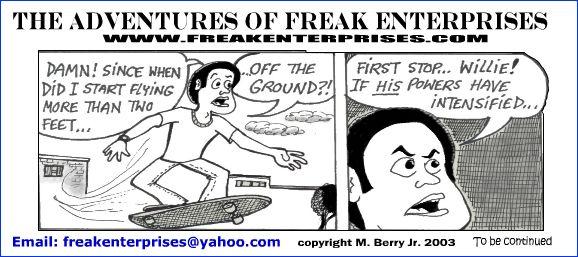 Freak Enterprises Strip #30