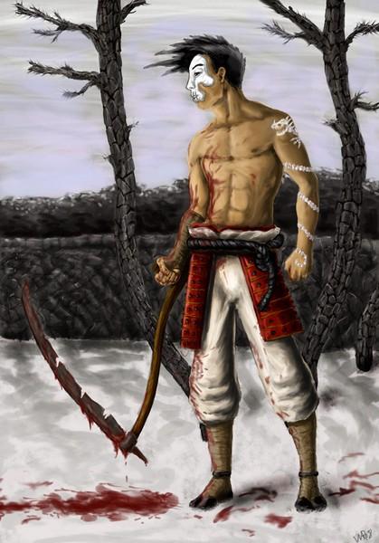 Skythe warrior