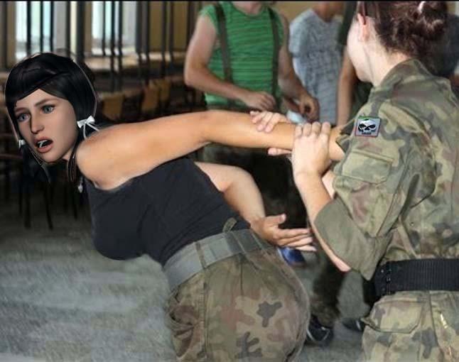 arrested girl