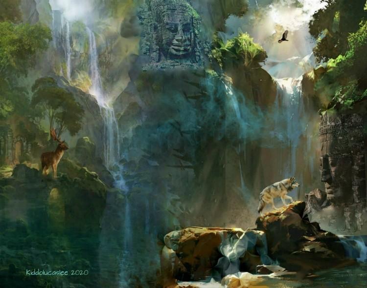 Hidden Passage of Khmer Empire * 2020 Kiddolucaslee