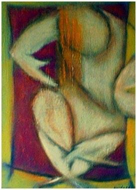 Feral with Orange Hair