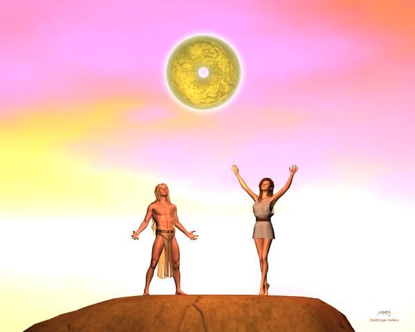 Sun Wheel Rising