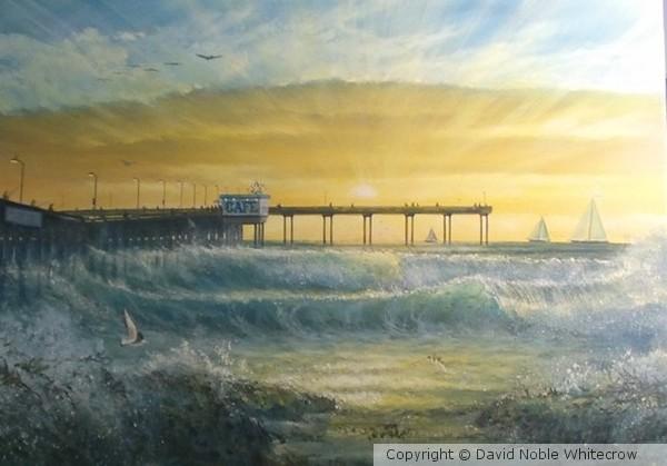 Ocean Beach Pier De Light