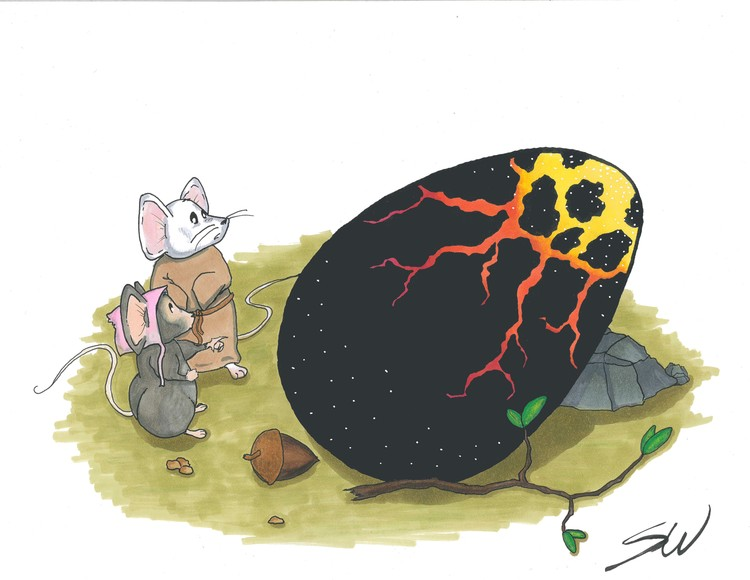 Little Mice Find the Egg