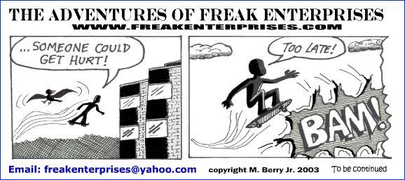 Freak Enterprises Strip #31
