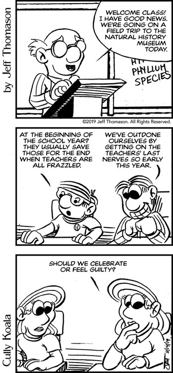 Celebrate, or Feel Guilty