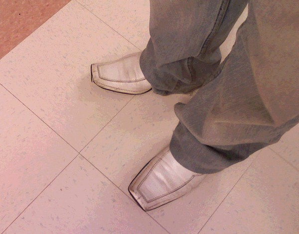 Square Toed Shoes