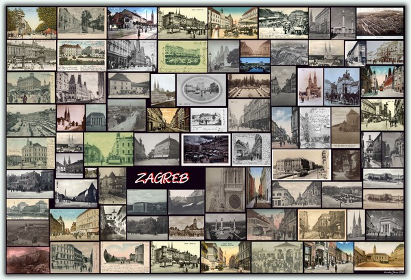 ZAGREB (Old Photos & Postcards)