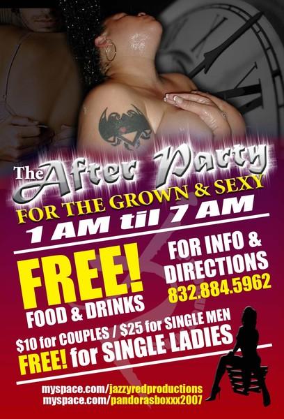 Jazzy Red's Birthday 4x6 Birthday flyer (side 2)