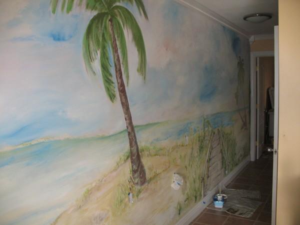 Bahia Beach House Mural