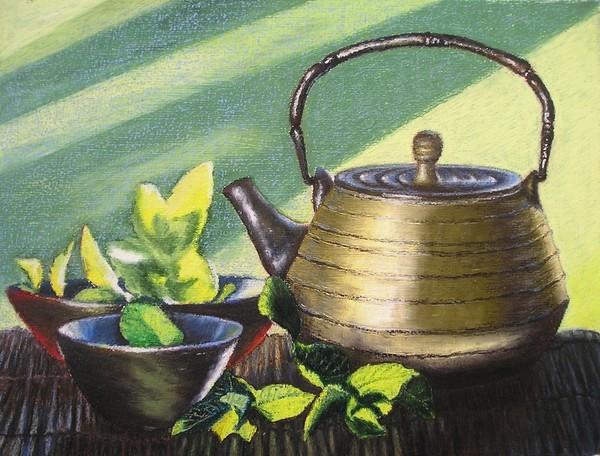 still life with a tea pot