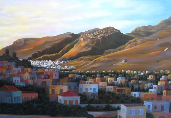 Landscape of Kalymnos
