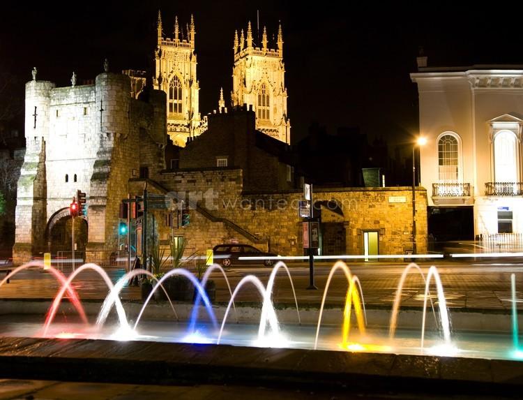 York night time photograph