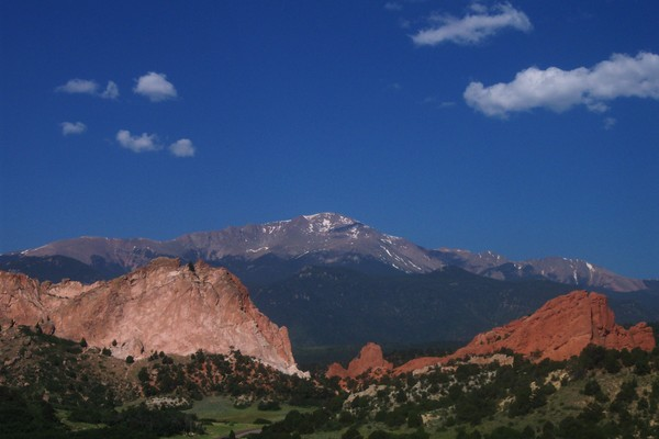 Pikes Peak and The Garden of the Gods
