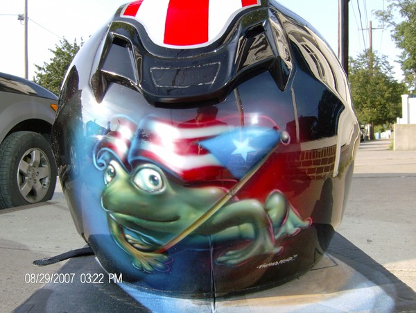 Pony Express Helmet/ Coqui