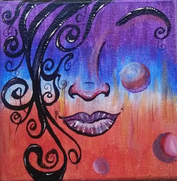 Abstract Facial 4