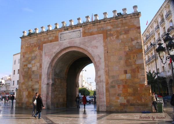 Gateway to the Tunis Medina