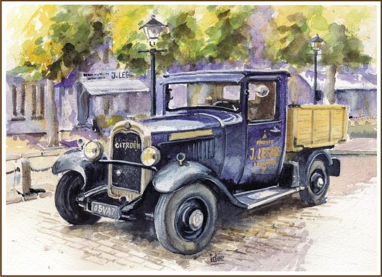 Citroën pick-up 1920