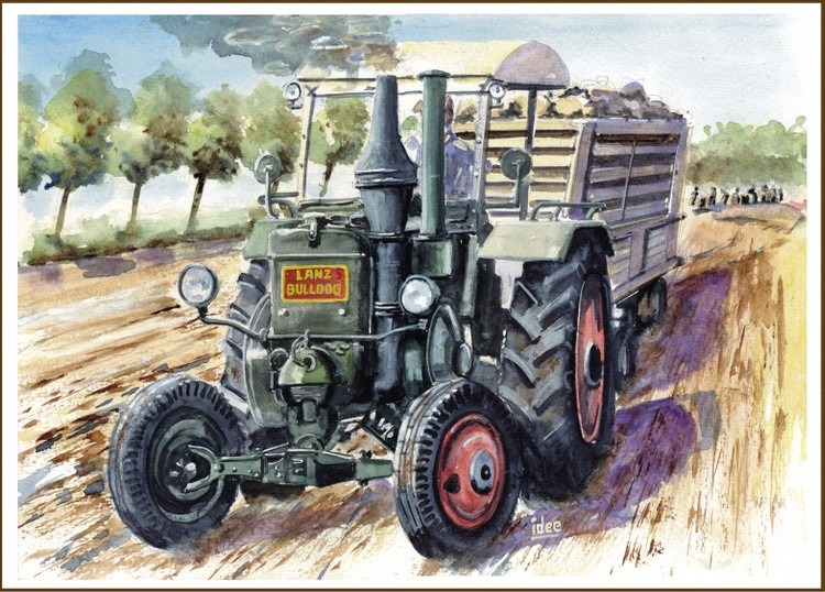 Tractor Lanz Bulldog from 1939