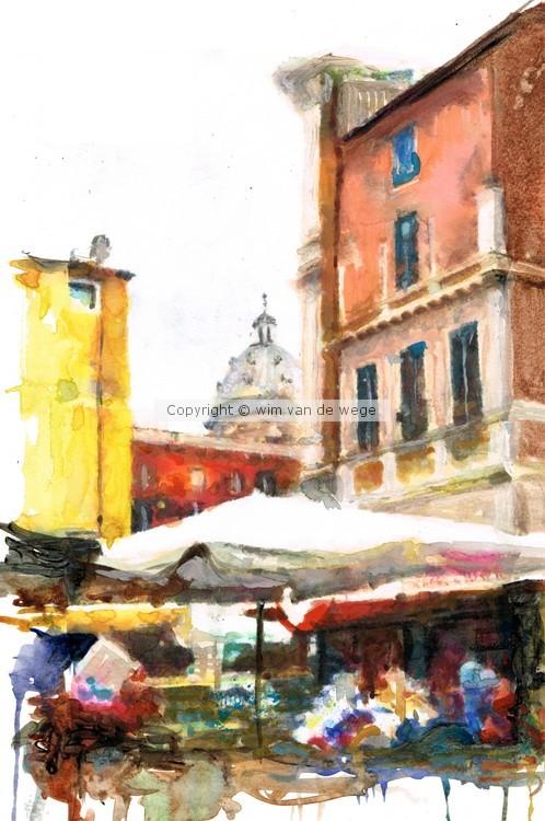 Rome market square