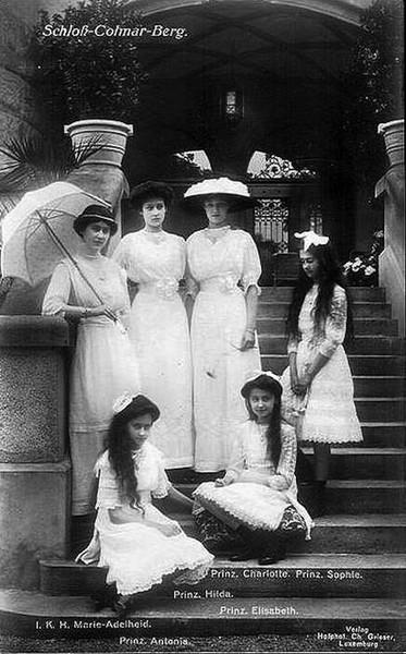 Daughters of the Grand Duke of Luxemburg