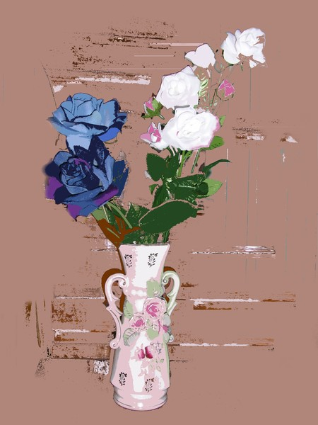 Flowers and Vase 3
