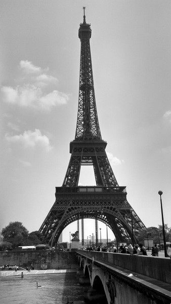 A view of the Eiffel