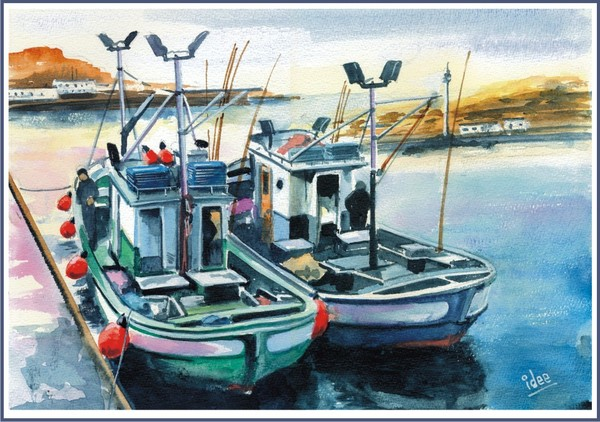 Canarian fishing-boats