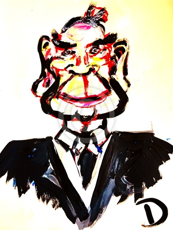 Tommy Lee Jones Caricature