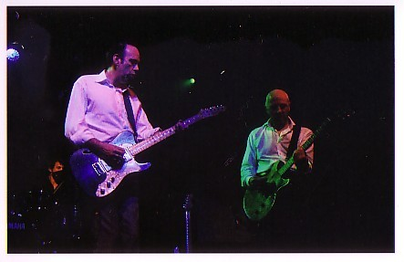 Mick Jones and Tony James