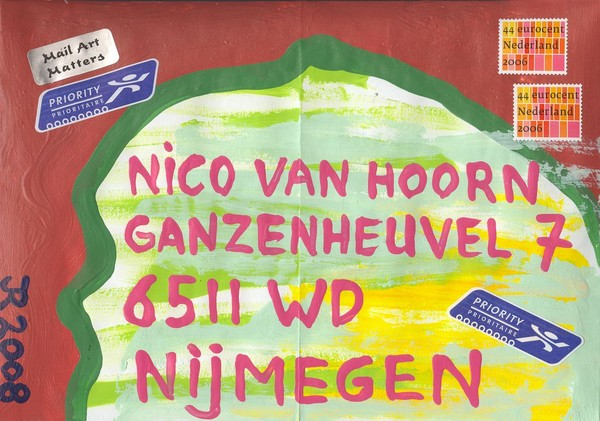 Mail to Nico van Hoorn - Netherlands