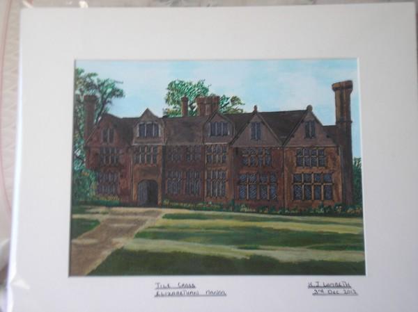 Tile Cross Elizabethan Manor House