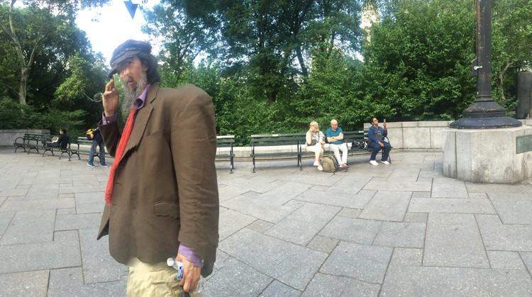 Ahgamen Wide Hunchback Central Park south