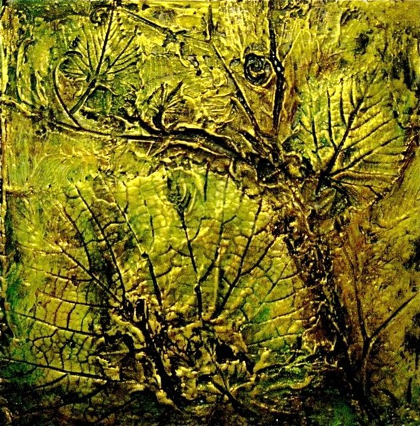 Grapevine Leaves (Fossil Art)