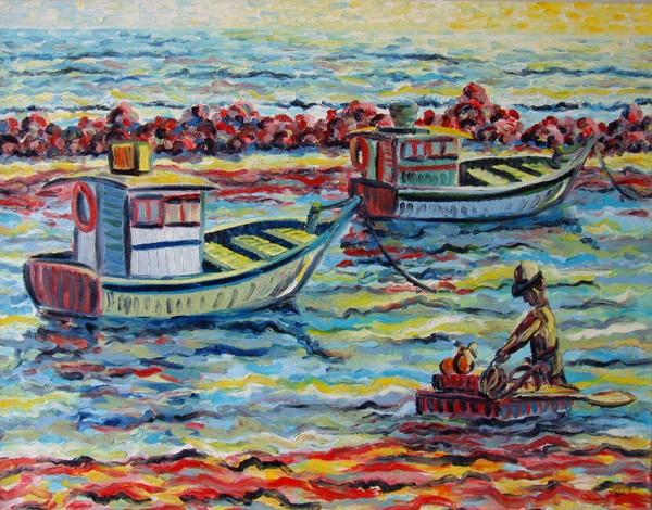 Boats in Olinda