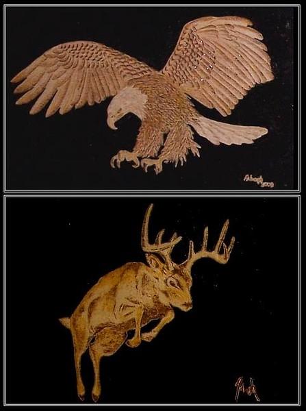 Buck / Bald Eagle