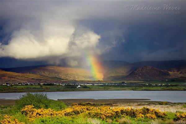 • Rainbow over Waterville, County Kerry, Ireland