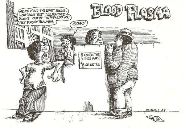 1983 Cartoon, Social Commentary