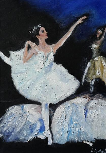 Silhouette Ballerina by Liz Sutcliffe