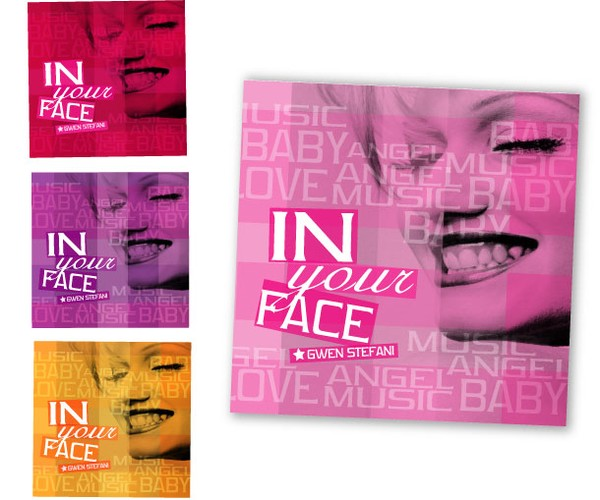 In Your Face CD art