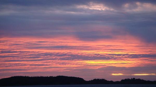 Sunset 29/6-2015