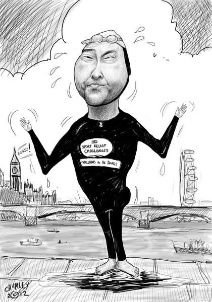 Davis Walliams Vs The Thames