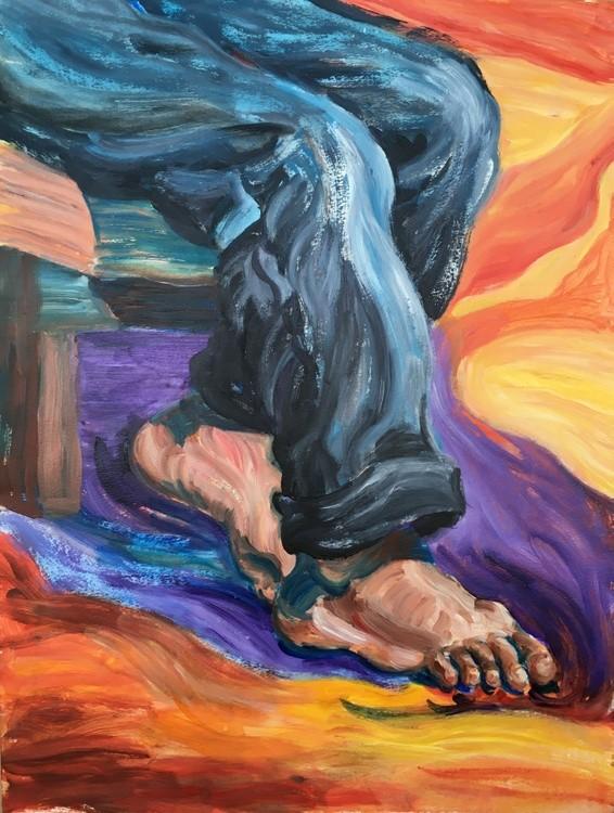 Working Feet Portrait  (Foot Series)