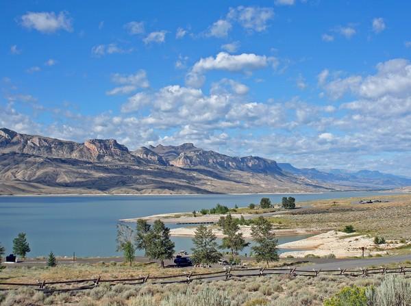 Yellowstone Lake Vista