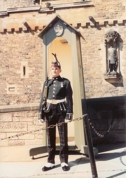 Edinburgh Castle Guard