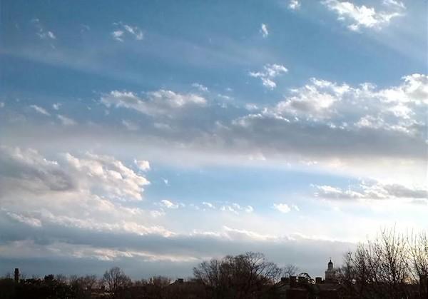 Streaks Of Clouds